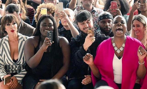 Kim Kardashian, Cardi B, Lil Mama, Nicki Minaj, Draya Michele, EJ Johnson Justine Skye Spotted At NYFW