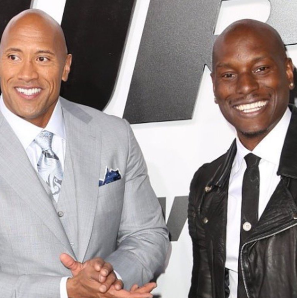 Tyrese: I'm not mad at The Rock, I just want him to shoot his solo movie later.