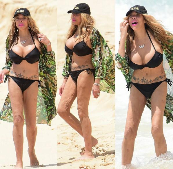 Brandy Reignites Preggo Rumors + Wendy Williams Continues Beach Vacay [Photos]
