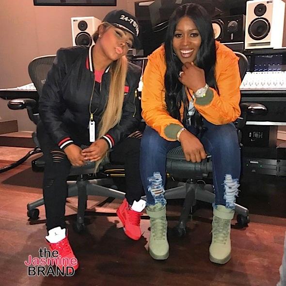 Lala & Naturi Naughton Visit 50 Cent's New Show, Mimi Faust Films 'Tales', Lil Kim & Remy Ma Hit the Studio + Kevin Hart, Slick Rick, Future