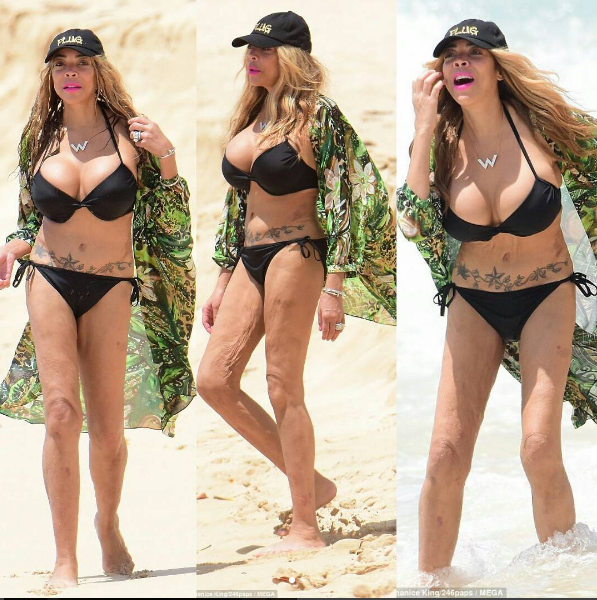 Wendy Williams Isn't Ashamed Of Her Body: I have perky boobs & a flat belly + Says T.I. Wears Shoe Lifts To Make Himself Taller
