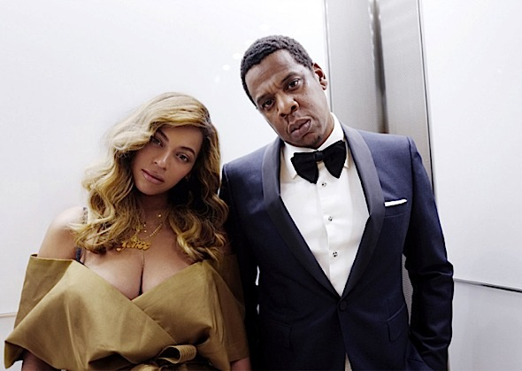 Beyonce & Jay-Z Hit Theater, Hampton's & Diamond Ball
