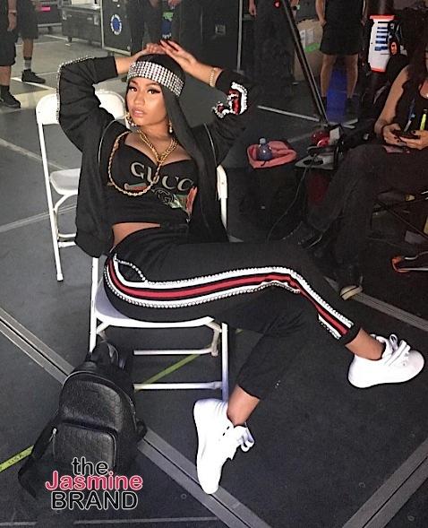 Nas & Nicki Minaj's Dope Shoot! [Couple Goals