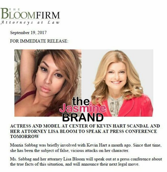 Blac Chyna Lawyer Lisa Bloom Represents Woman In Kevin Hart Scandal
