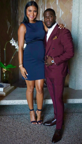 Kevin Hart's Pregnant Wife Standing By His Side: There is no divorce talk.