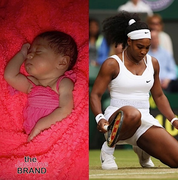 Serena Williams Pens Letter To Mother Inspired By Newborn: