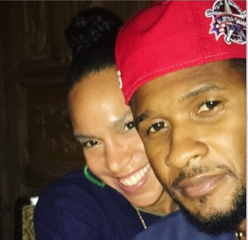 Usher's Wife Professes Her Love To Singer Amidst STD Controversy