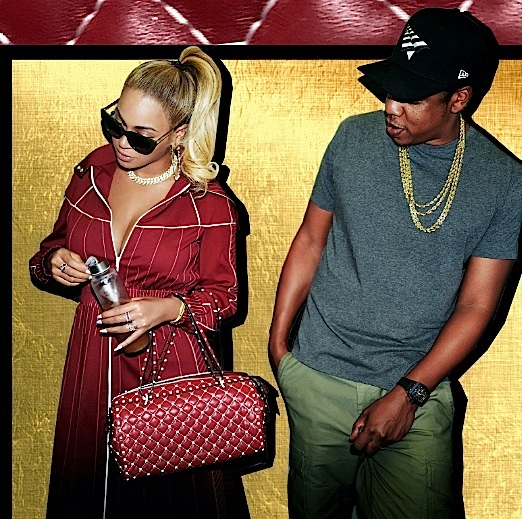 Beyonce & Jay-Z Hit Bruno Mars Concert [Photos]