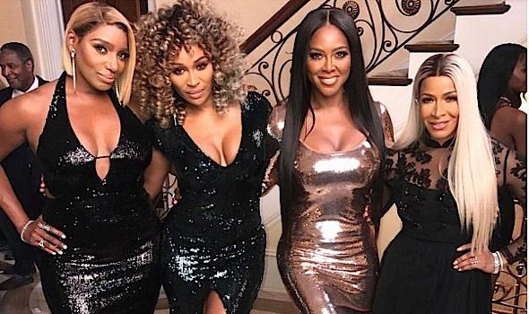 Real Housewives of Atlanta Shoot: NeNe Leakes, Cynthia Bailey, Kenya Moore, Sheree Whitfield