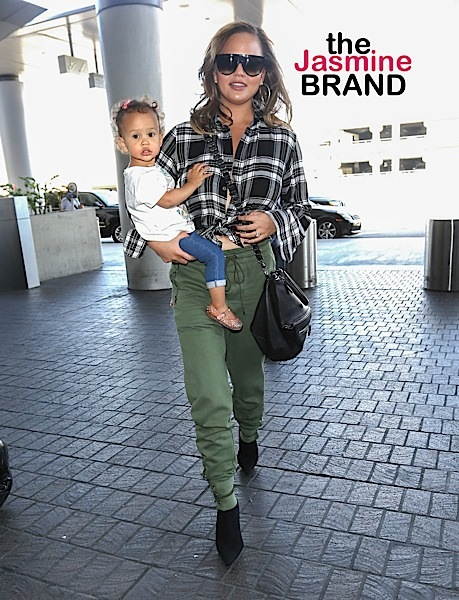 Chrissy Teigen & Daughter Forced To Evacuate Home Due To LA Fires