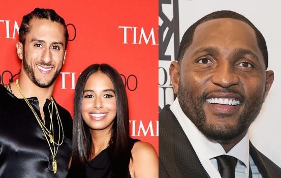 Ray Lewis Blames Colin Kaepernick's Girlfriend: Her tweet is why Ravens didn't sign him.