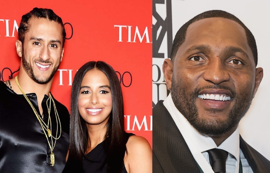 Ray Lewis Blames Colin Kaepernick's Girlfriend: Her tweet is why Ravens didn't sign him.
