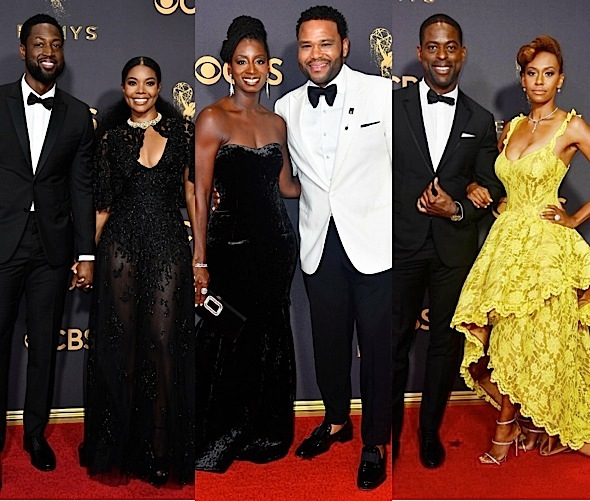 Emmys Red Carpet Fashion: Issa Rae, Shemar Moore, Tracee Ellis Ross, Lakeith Stanfield, Yara Shahidi, Laverne Cox