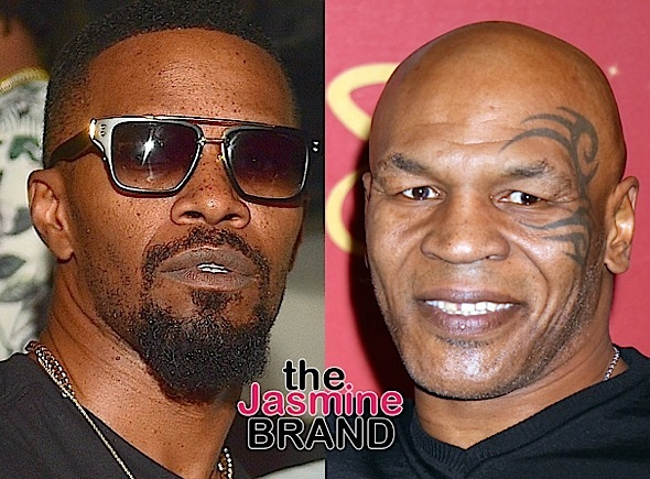 "Jamie Foxx Confirms Mike Tyson Biopic Is Moving Forward, Says ""We Officially Got The Real Ball Rolling"""
