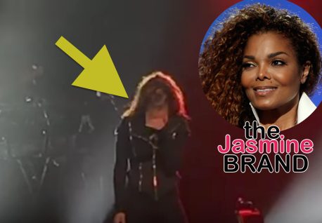 Janet Jackson Breaks Down In Tears On Stage