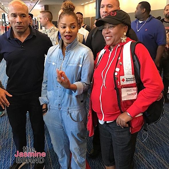 LeBron James & Sons Post-Up, Tamar Braxton & Evelyn Lozada Film 'Hip Hop Squares' + Janet Jackson Visits Hurricane Harvey Survivors