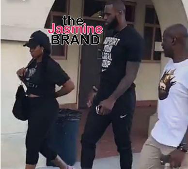 LeBron James & Wife Visit Private Schools In LA [Photo]