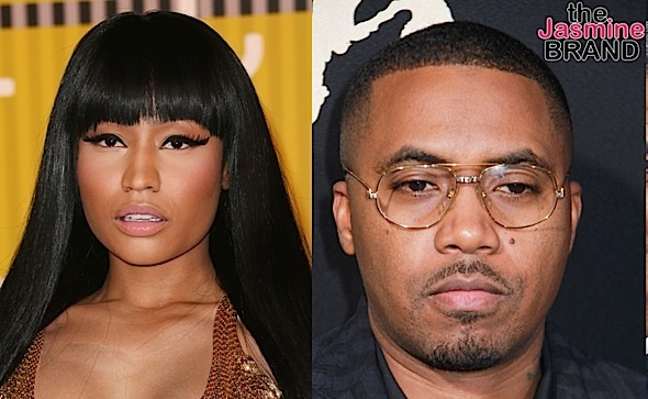 Nas Kisses Nicki Minaj At Private Birthday Dinner [VIDEO]