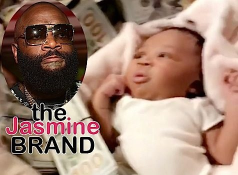 Rick Ross Debuts Newborn Daughter, Surrounded By Cash