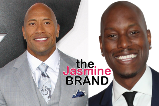 Tyrese Calls Out The Rock: You're not responding to my text messages!