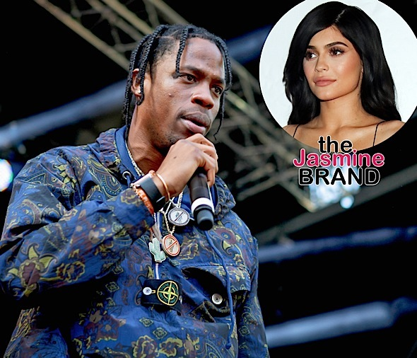 "Travis Scott On Kylie Jenner's Rumored Pregnancy: ""I don't want to talk about that."" [Ovary Hustlin]"