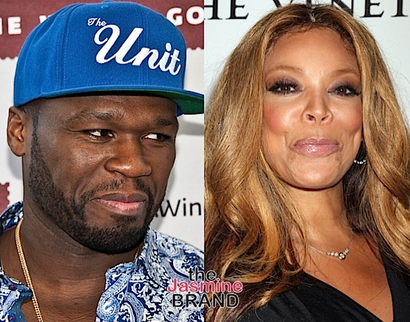 50 Cent Trashes Wendy Williams: She didn't faint, she's acting!