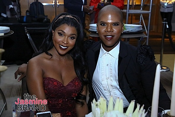 Jussie Smollett, Kelly Price, Amiyah Scott, Miss Lawrence Attend Gentlemen's Ball