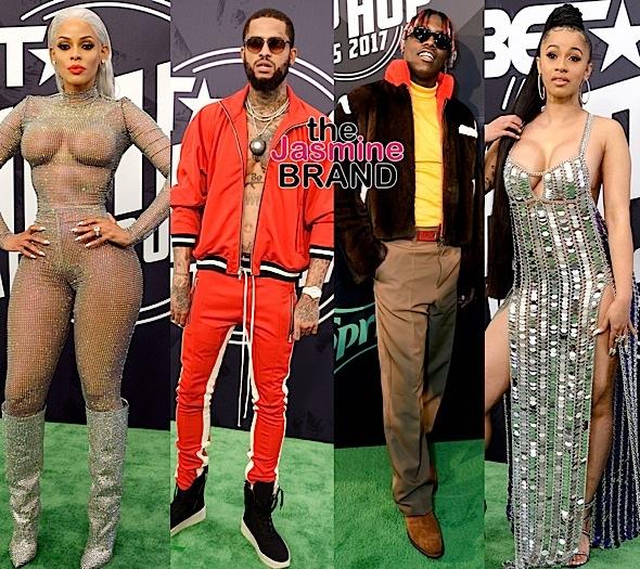BET Hip Hop Awards Red Carpet: DJ Khaled, Blac Chyna, Katt Williams, Plies, Tami Roman, Migos, Reginae Carter, Cardi B, Dave East