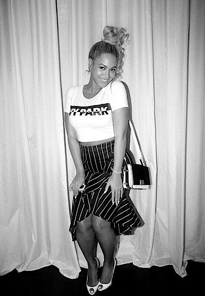Beyonce Rocks Thot Knot, Ivy Park, Celine & Zimmerman