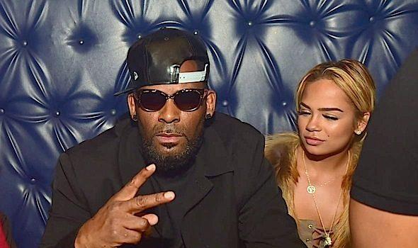 R.Kelly Parties w/ Girlfriend Halle Calhoun + Sean Garrett, Jeezy, Ming Lee Spotted
