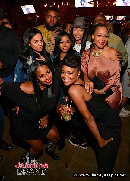 Tiffany Haddish, Keri Hilson, Jacob Latimore, Keshia Knight-Pulliam, Gabrielle Union Party In Atlanta