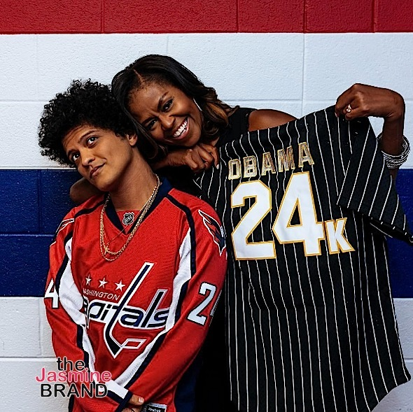 Beyonce & Jay-Z Backstage w/ Leslie Jones, Michelle Obama Hits Bruno Mars Concert + Foxy Brown, Lauryn Hill, Nas, Damian Marley