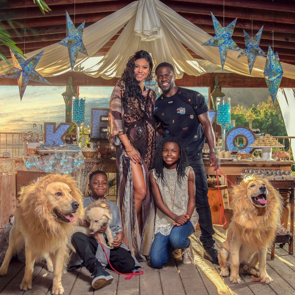 Kevin Hart & Wife Eniko Announce Baby Name, Host Baby Shower [VIDEO]