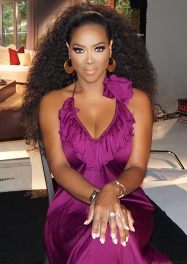 Kenya Moore Denies Being Fired From RHOA