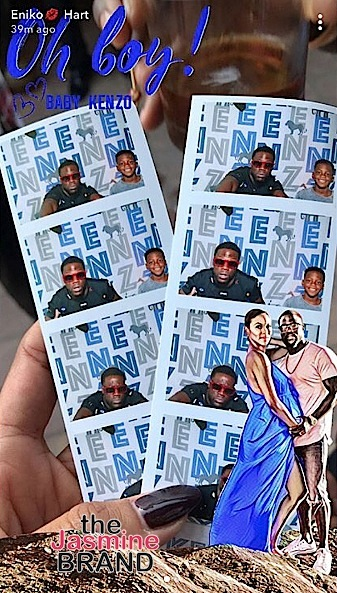 Kevin Hart & Wife Eniko Announce Baby Name, Host Baby Shower