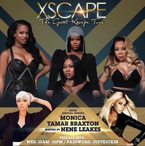 NeNe Leakes Hosting Xscape Tour