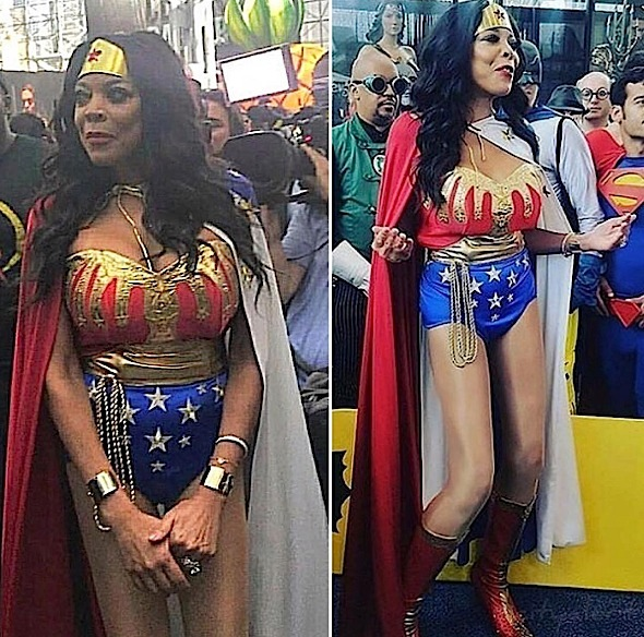 Wendy Williams Transforms Into Wonder Woman