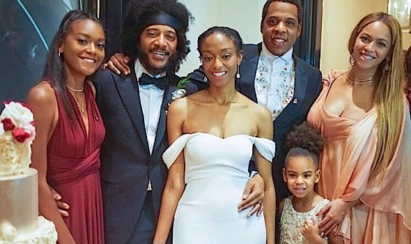 Beyonce, Jay-Z & Blue Ivy Spotted At New Orleans Wedding