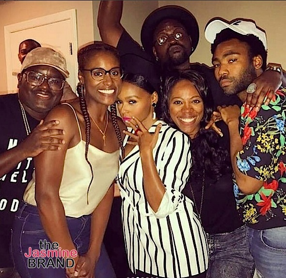 Issa Rae Throws A Lemmon Pepper Kick-Back: Samuel L. Jackson, Donald Glover, Janelle Monae, Amandla Stenberg Spotted