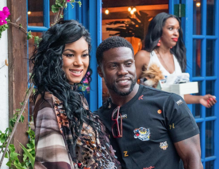Kevin Hart Tells Eniko: I'm lucky to still be calling you wife.
