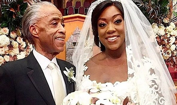 Al Sharpton's Daughter Gets Married! [Spotted. Stalked. Scene.]