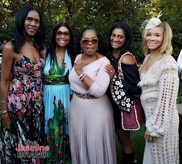 Oprah Hosts Brunch: Kerry Washington, Meagan Good, Angela Bassett, Alicia Keys Spotted