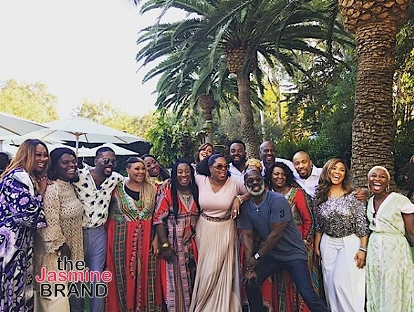 Oprah Hosts Brunch: Kerry Washington, Common, Meagan Good, Angela Bassett, Alicia Keys Spotted