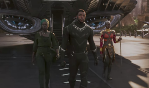 """Black Panther"" Trailer Starring Chadwick Boseman, Michael B. Jordan, Lupita Nyong'o, Danai Gurira"