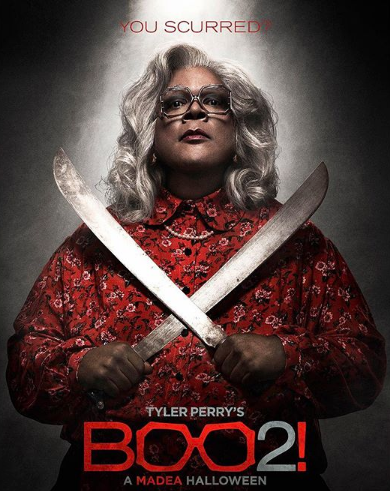 Tyler Perry's 'Boo 2! A Madea Halloween' Makes $760k On Thursday Night