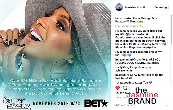 Tamar Braxton (Sorta) Confirms Toni Braxton Married To Birdman