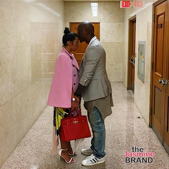 Tyrese Embraces Wife, Pens Letter Before Court Battle w/ Ex Over Child Beating Accusations