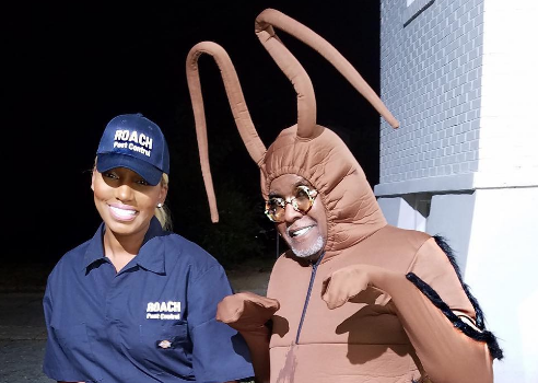 NeNe Leakes Taunts Kim Zolciak w/ Roach Pest Control Costume [Photos]