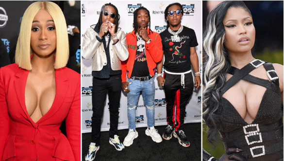 Nicki Minaj Denies Tension w/ Cardi B Over Migos Track: They don't do this to male M.C.'s
