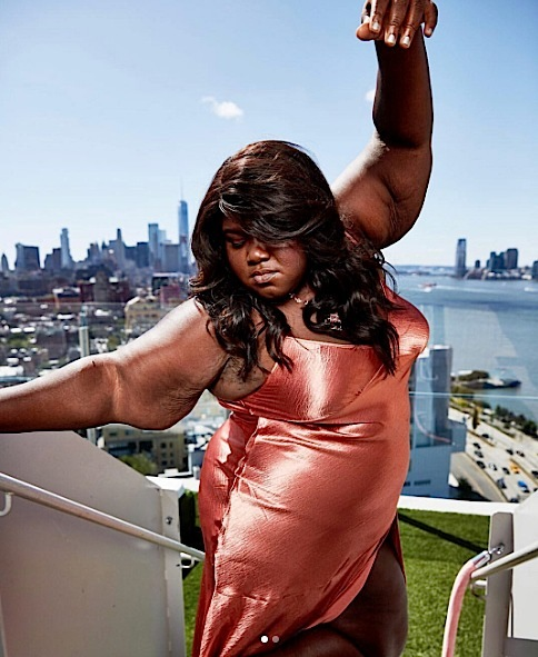 Gabby Sidibe Stars In 'Refinery 29' Shoot [Spotted. Stalked. Scene.]